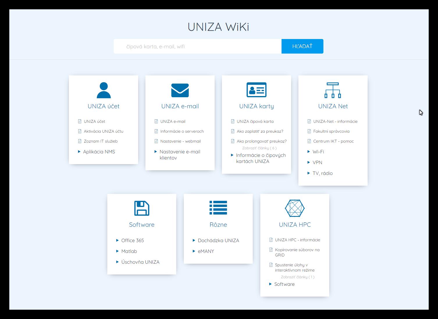 uniza_wiki